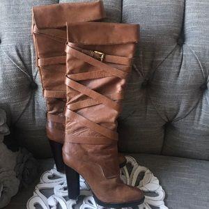 MK Michael Kors Tall Heels Boots Woman's 7.5